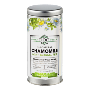 chamomile-mint-cbd-tea